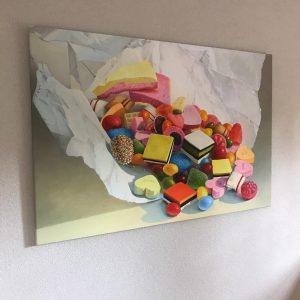Giclee op canvas
